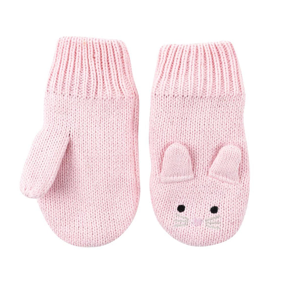 Zoocchini Knit Mitts - Beatrice the Bunny