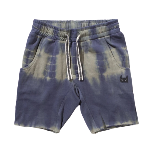Munsterkids Ripped Track Shorts - Sage