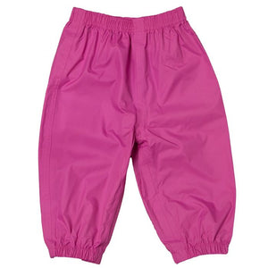 Calikids 100% Waterproof Rain Pants - Raspberry