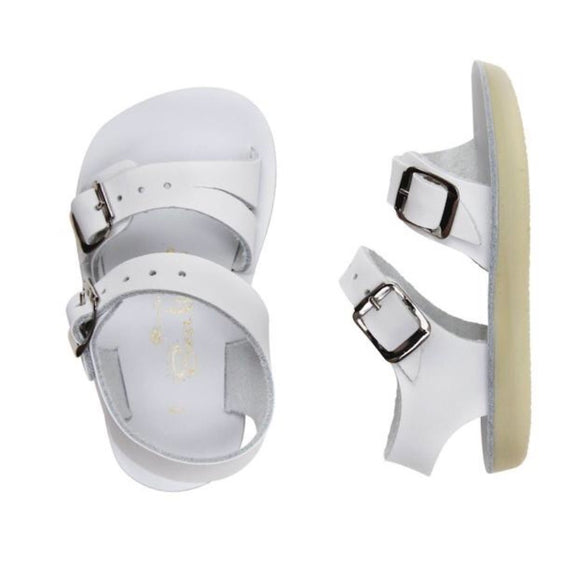 Salt Water Sandals - Sea Wees Infant White