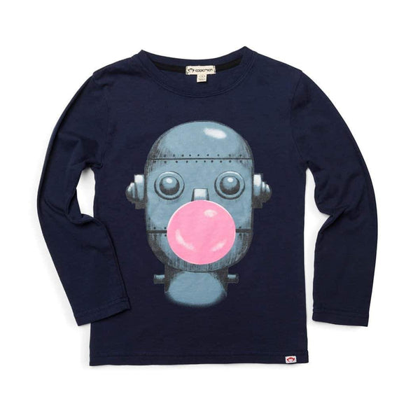 Appaman Bubble Bot shirt - peacoat