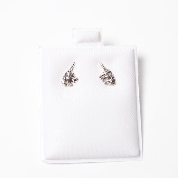 Sterling Silver Earrings - Unicorns