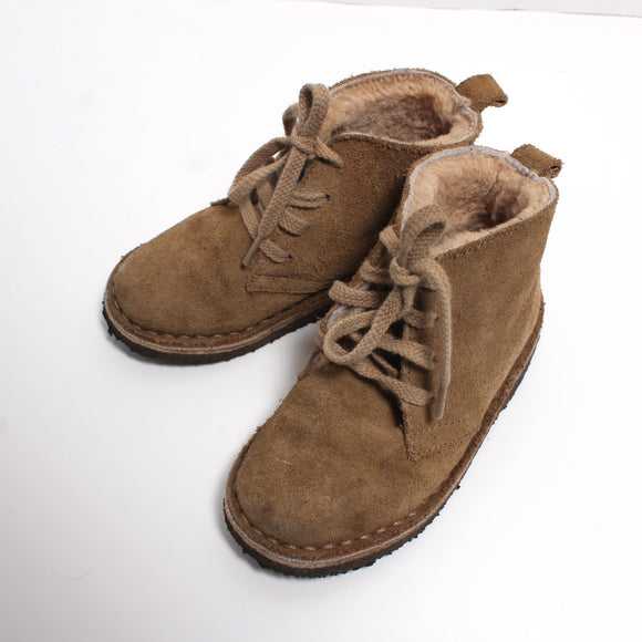 crewcuts shearling lined boots