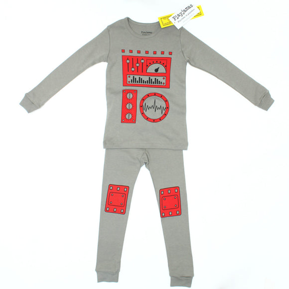 Robot Playjamas - Sizes 2T-8