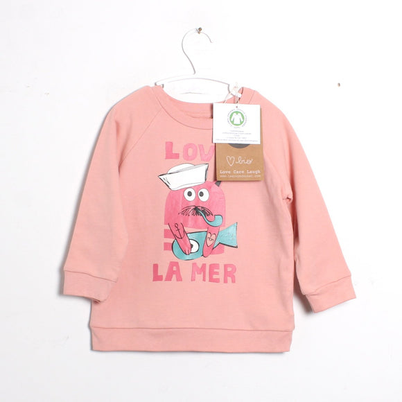 la queue du chat sweatshirt
