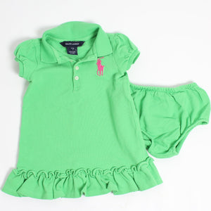 Ralph Lauren dress and bloomers