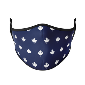 Navy Maple Reusable Face Masks