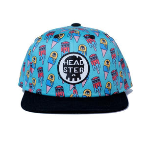 Headster Monster Freeze Hat Blue by LA Charbonne