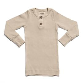 Organic Vintage L/S Top - Oatmeal