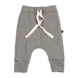 Organic Drawstring Pants - Stripe