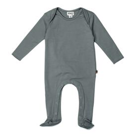 Organic Footed Jumpsuit - Petrol