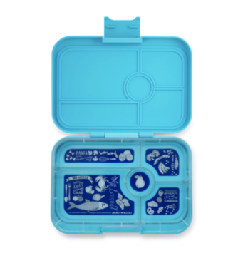 Yumbox Nevis Blue 5 Compartment Tapas