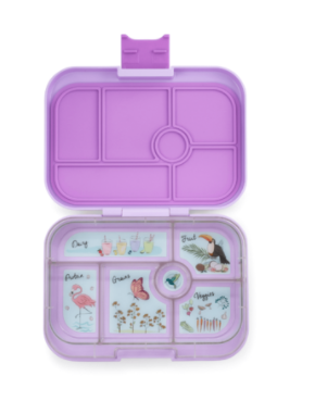 Yumbox Original 6 Compartment Lila Purple