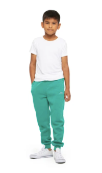 The Charlie Slim Jogger- Peacock Green