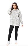 The Cooper Hoodie Women's- White Camo
