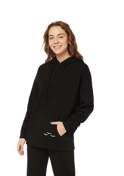 The Ultra Soft Cooper Hoodie Women's- Black