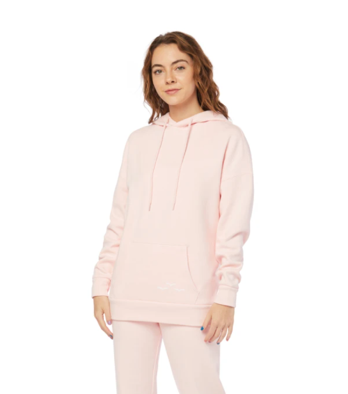 Lazy Pants The Ultra Soft Cooper Hoodie Women's- Baby Pink