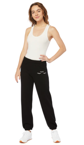 Lazy Pants The Ultra Soft Nikki  Women's- Black