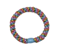 kknekki elastic- light rainbow metallic