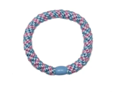 kknekki elastic- light blue & light pink