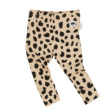 HuxBaby Animal Spot Legging - Sand