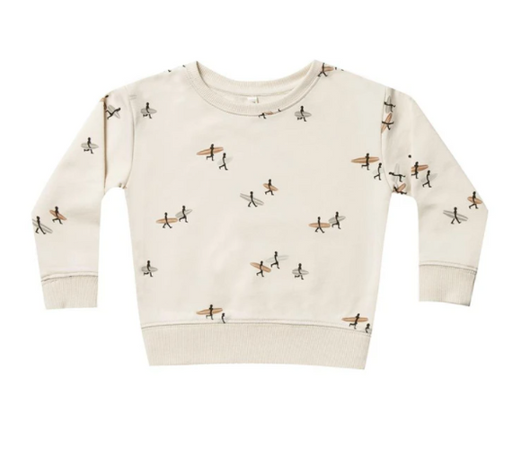 Rylee & Cru- Surfer Sweatshirt- Natural