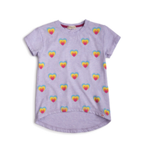 Appaman Circle Tee- Thistle Hearts