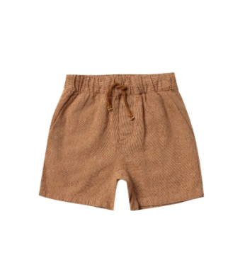 Rylee & Cru- Drawstring Short- Bronze