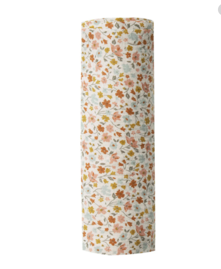 Rylee & Cru- Flower Field Swaddle- Natural