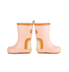 Grech & Co. Children's Rubber Boots- Rainbow- Shell