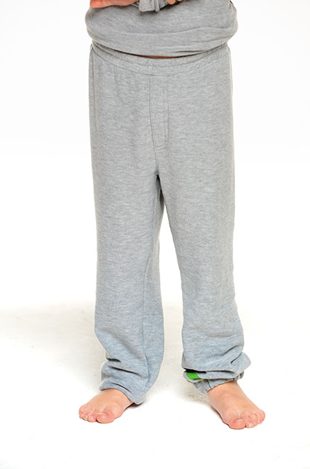Cozy Knit Jogger- Heather Grey