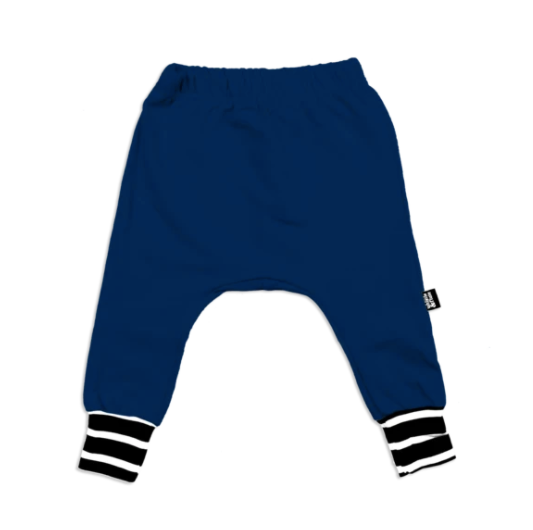 Whistle & Flute Bamboo Jogger - Navy