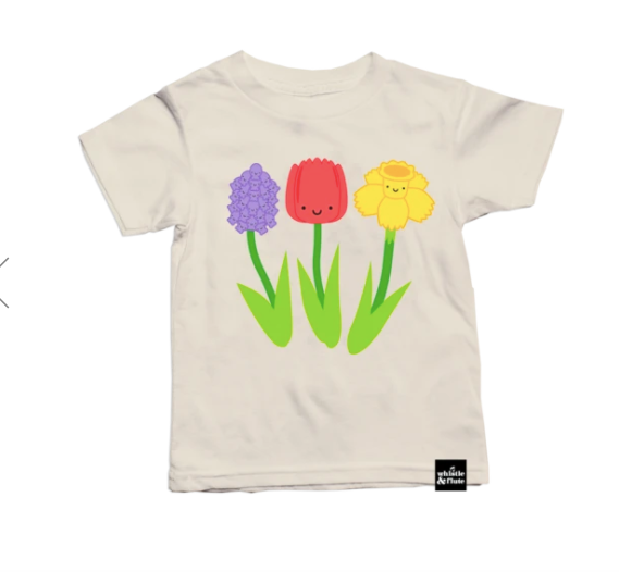 Whistle & Flute- Spring Flowers T-Shirt