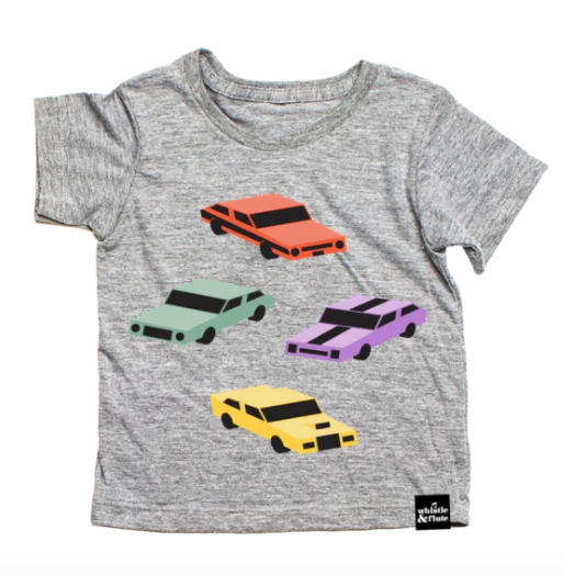 Whistle & Flute- Cool Cars T-Shirt
