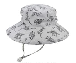 Puffin Gear Cotton Sunbaby Hat - Dinosaur