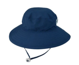 Puffin Gear Solar Nylon Sunshine Hat - Navy