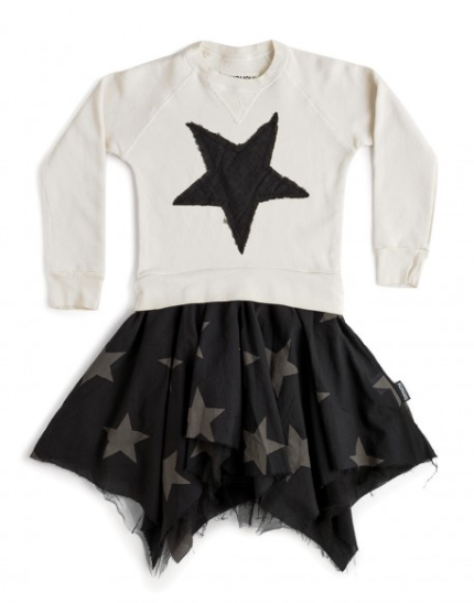 Nununu Falling Star Flowy Dress