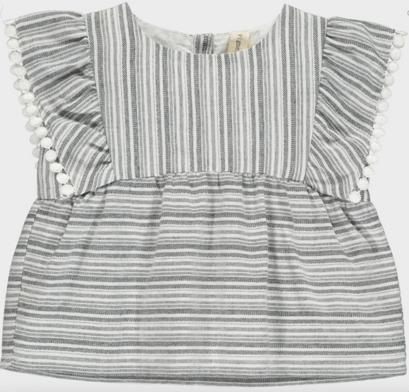 Vignette Amelia Top in Charcoal