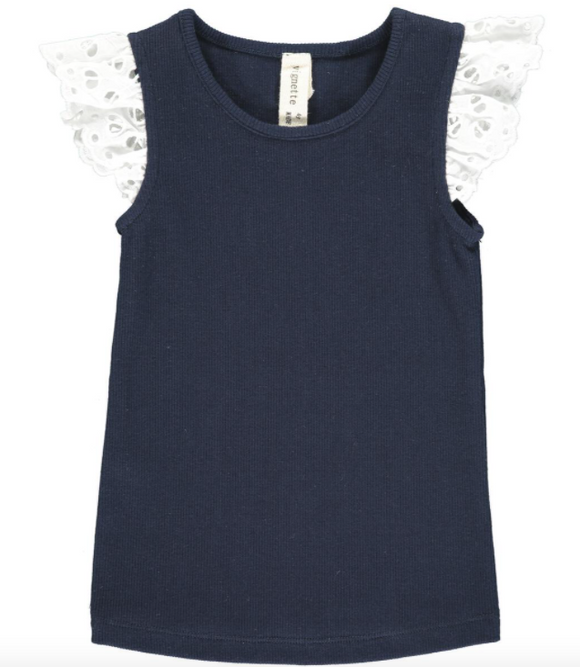 Vignette Annabel Tank in Navy