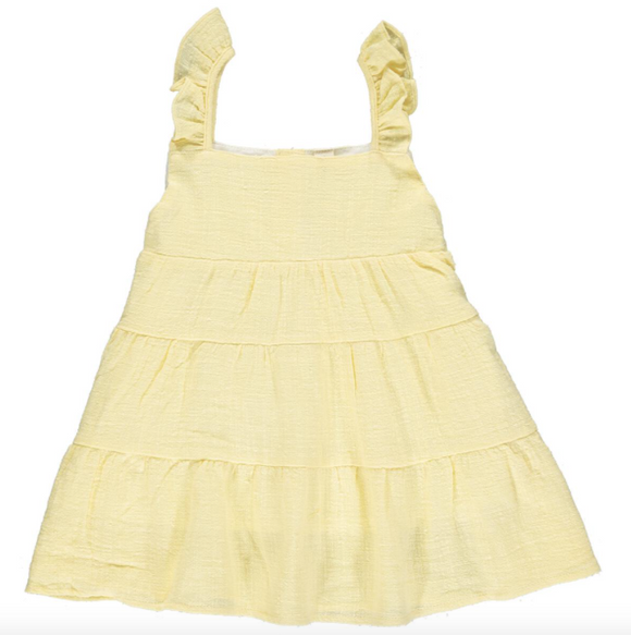 Vignette Layla Dress in Yellow