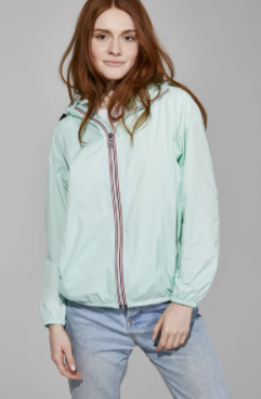 08 Lifestyle- Women's Sloane Zip Front Jacket- Mint