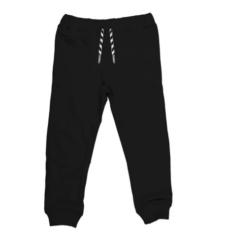 Whistle & Flute Bamboo Drawstring Joggers - Black