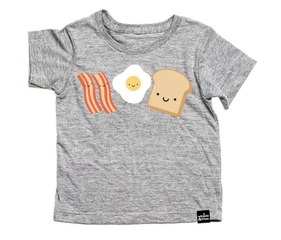 Whistle & Flute Breakfast T-Shirt