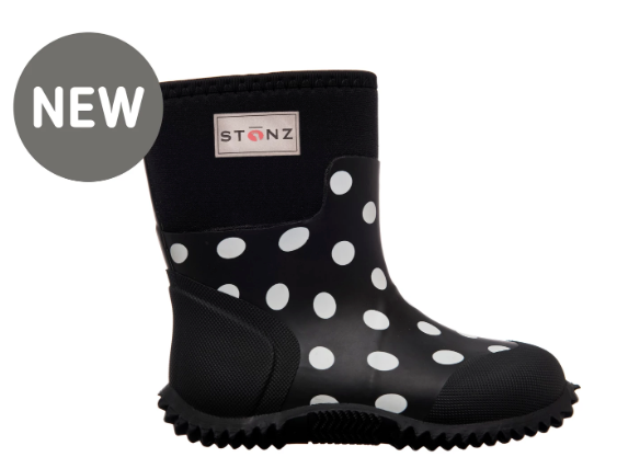 West - Polka Dot - Black & White
