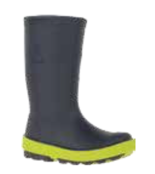 Kamik Rainboot - Riptide (black & neon)