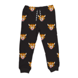 Whistle & Flute Bamboo Drawstring Joggers - Allover Tiger
