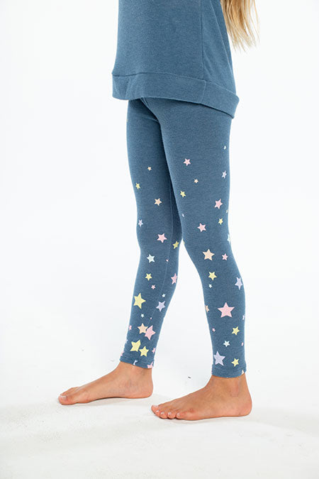 Girls Cozy Knit Star Legging