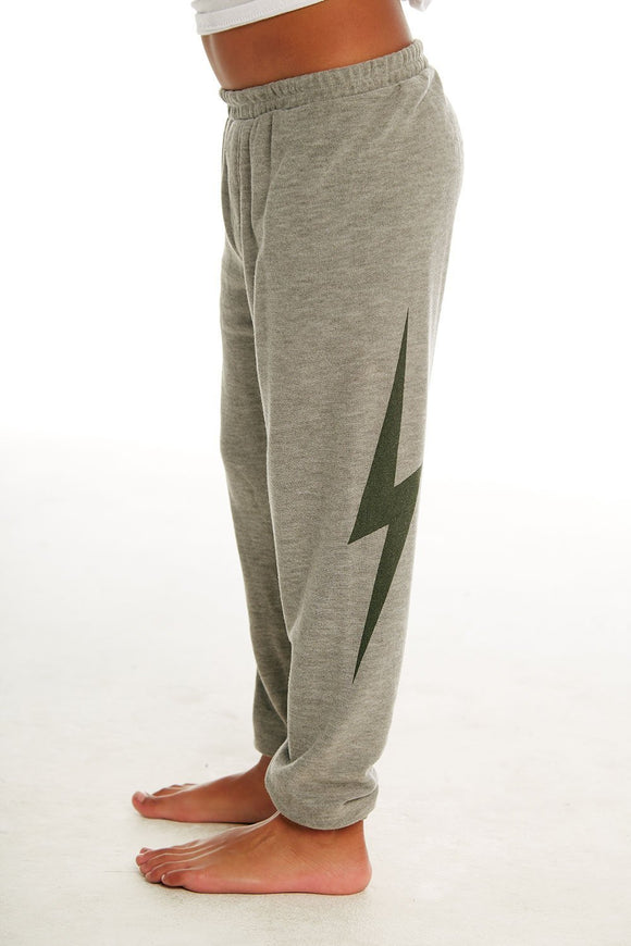 Cozy Knit Jogger Heather Grey