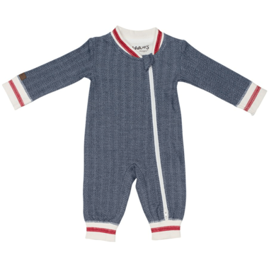 Juddlies Organic Cottage Playsuit - Lake Blue