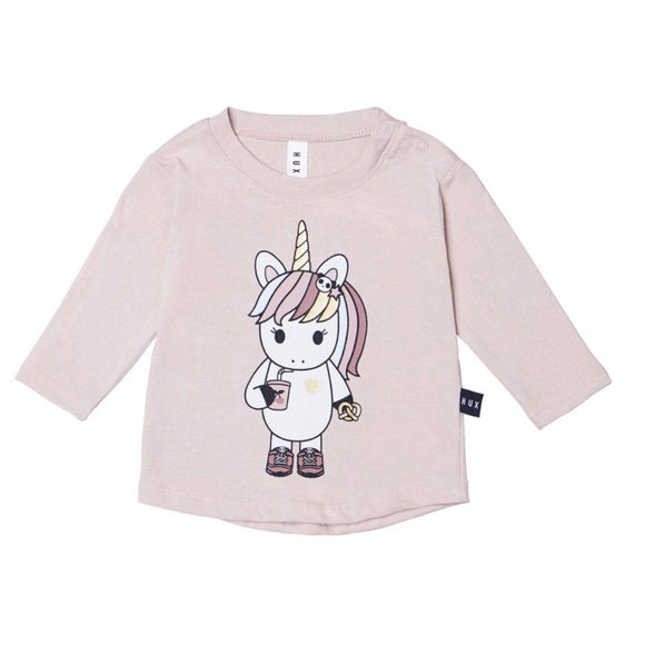 HuxBaby Unicorn Long Sleeve Top